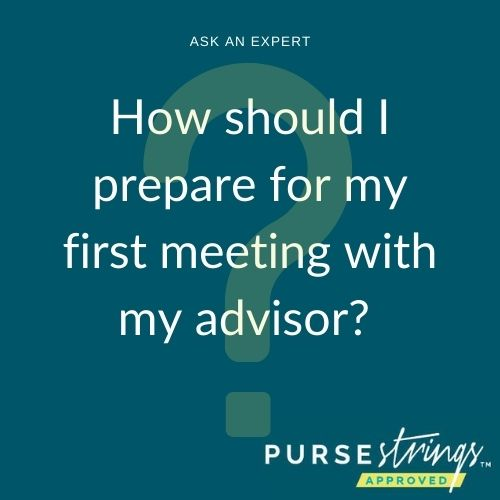 How Should I Prepare for My First Meeting with my advisor?